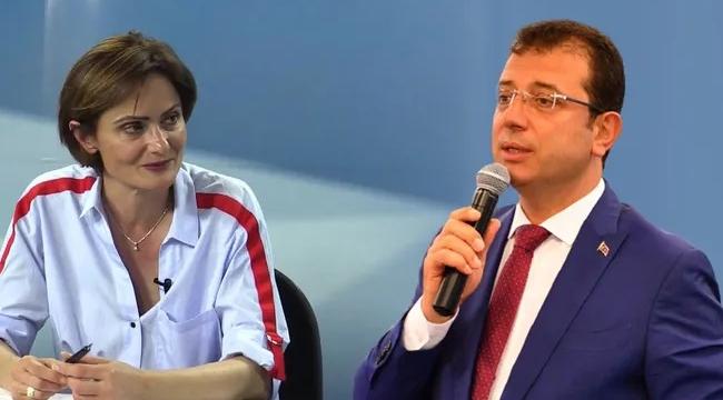 Canan Kaftancıoğlu'ndan Ekrem İmamoğlu'na darbe!