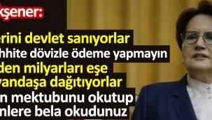 İYİ PARTİ GENEL BAŞKANI MERAL AKŞENER'DEN ÖNEMLİ AÇIKLAMALAR !