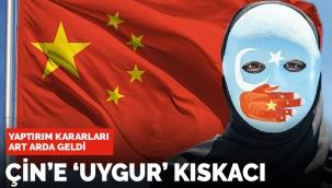 Çin'de Doğu Türkistan kıskacı! Dünyadan art arda yaptırım kararı