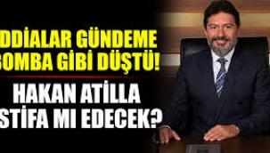 Hakan Atilla'nın istifa iddialarına dikkat çeken yorum: Amaç ilişkileri düzeltmek