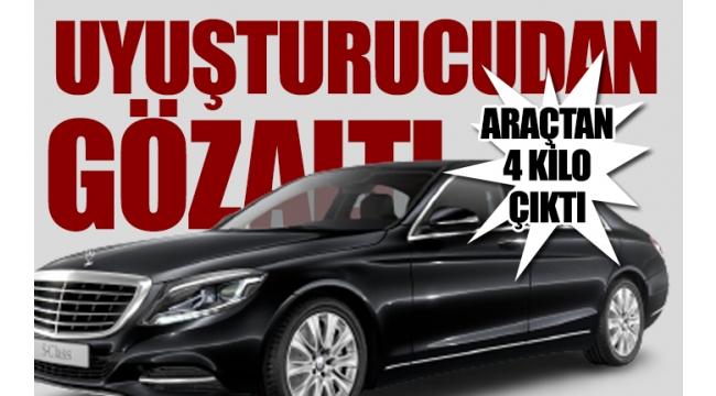 Cumhurbaşkanı Başdanışmanı makam aracına Ankara Narkotik'ten operasyon