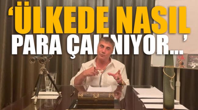 Sedat Peker: Belediyelerde rüşvet, derneğe hayır adı altında alınıyor
