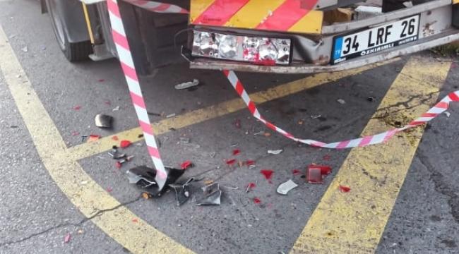 Sokak köpekleri saldırdı, kaçmaya çalışan sürücüyü hatalı park eden çekici öldürdü.