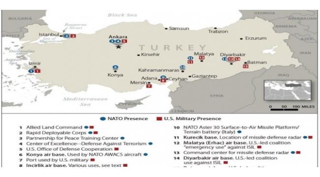 Devleti aciz gösteriyorsunuz diyenler ! Türkiye'de 40 ABD - NATO Üssü Var