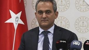 Milli Eğitim Bakanı Özer'den yüz yüze eğitim açıklaması