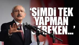 Kılıçdaroğlu: Piyasalarımız Saray'ın dünkü akıl dışı faiz indiriminin etkisiyle sarsıldı